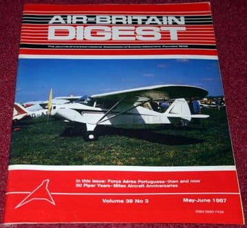 Air Britain Digest Magazine 1987 May-June Miles,Portugese Air Force