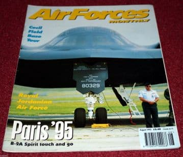 Air Forces Monthly Magazine 1995 August RAAF F-111,Jordanian Air Force,Cecil Field,JG73