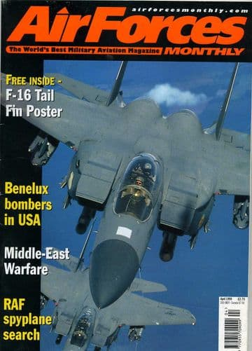 Air Forces Monthly Magazine 1999 April C-135,EH101 Merlin,F-16,Venezuela
