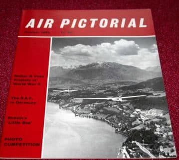 Air Pictorial Magazine 1963 October Blohm Voss,RAF Germany,USAF 10th Tac Recon