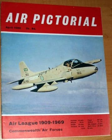 Air Pictorial Magazine 1969 April Commonwealth Air Forces,RAAF,Concorde