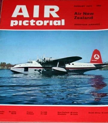 Air Pictorial Magazine 1973 August Pterodactyl,Air New Zealand,Coningsby Phantom