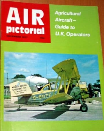 Air Pictorial Magazine 1977 December Folland,Lightning,Agricultural Aircraft