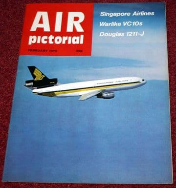 Air Pictorial Magazine 1979 February Singapore Airlines,VC10,SAAF