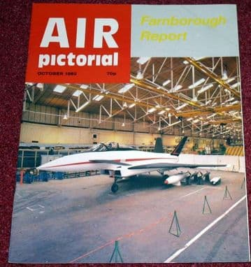 Air Pictorial Magazine 1982 October Shackleton,NATO