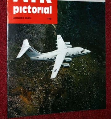 Air Pictorial Magazine 1983 August Romanian Military Aircraft
