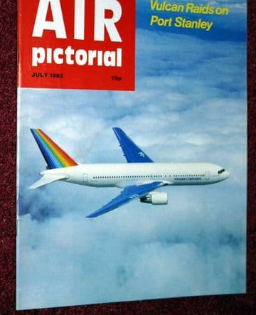 Air Pictorial Magazine 1983 July Vulcan,Catalina,Romania