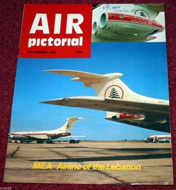 Air Pictorial Magazine 1983 November MEA,Tucano,DC2,East Africa