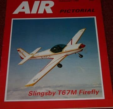 Air Pictorial Magazine 1986 February Slingsby T67 Firefly,Air Malawi,Buccaneer