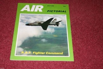 Air Pictorial Magazine 1986 July RAF,BCAL British Caledonian
