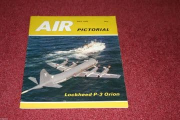 Air Pictorial Magazine 1986 May P-3 Orion,Viscount