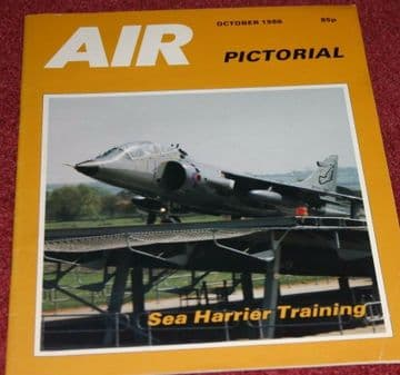 Air Pictorial Magazine 1986 October ATP,Chile,Sea Harrier