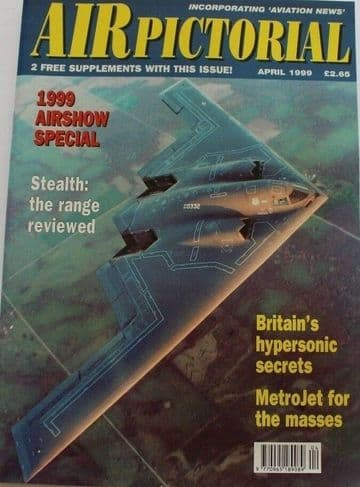 Air Pictorial Magazine 1999 April Hypersonics,Stealth,Metrojet,Let 410,AAM,CH-53