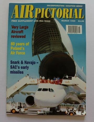 Air Pictorial Magazine 1999 March Polish Air Force 80 Years,Snark Missile