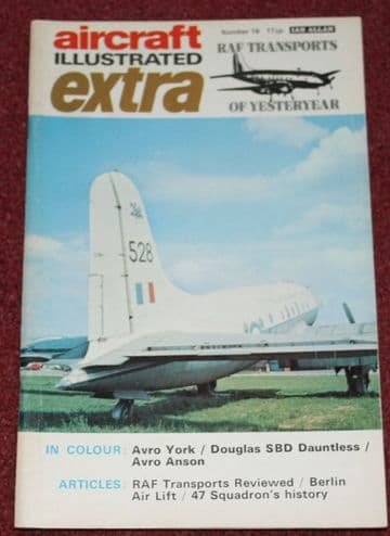 Aircraft Illustrated Extra Magazine 16 RAF Transports of Yesteryear inc Hastings,47 Squadron,Berlin