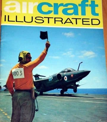 Aircraft Illustrated Magazine 1968 September Croydon Airport,Buccaneer,USAFE