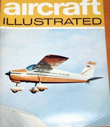Aircraft Illustrated Magazine 1969 July Boeing 747,Vickers 432,DH84 Dragon