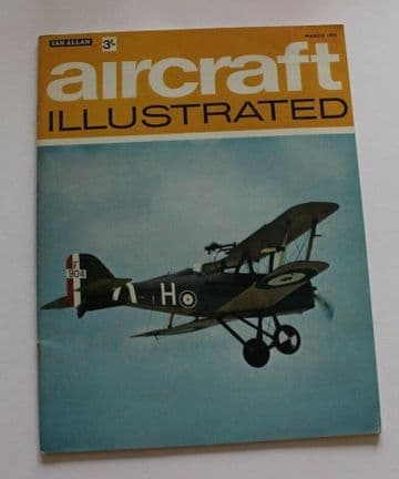 Aircraft Illustrated Magazine 1970 March AW55 Apollo,Birmingham