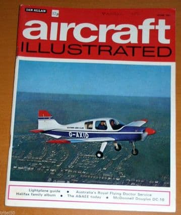 Aircraft Illustrated Magazine 1971 June Boscombe Down,Flying Doctor,DC10,Lynx