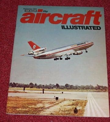 Aircraft Illustrated Magazine 1974 September Boeing 737,Farnborough