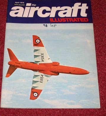 Aircraft Illustrated Magazine 1975 April BAC 1-11,Gloster Javelin,B-1,F-16 RAAF