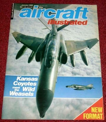 Aircraft Illustrated Magazine 1982 January Brymon,TTTE Cottesmore Tornado,Baby Lakes,305th F4G