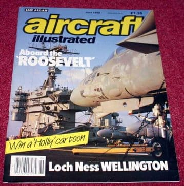 Aircraft Illustrated Magazine 1988 June Warton,Varig,Electra,Continental Airlines,HS817