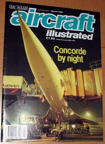 Aircraft Illustrated Magazine 1990 March Victor,Nimrod,Jetstream,Imsik Air,MD-11,Flying Wing
