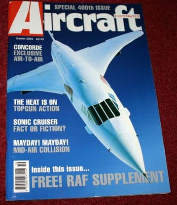Aircraft Illustrated Magazine 2001 October RAF,Concorde,Delta Tristar,CVN-75,Falklands Tornado