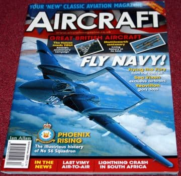 Aircraft Illustrated Magazine 2009 Christmas Sea Vixen,Hawker Fury,F4F Wildcat,Yeovilton,RAF