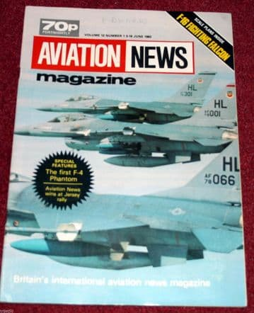 Aviation News Magazine 12.1 F-16,F-4 Phantom,Southend,Jetstream