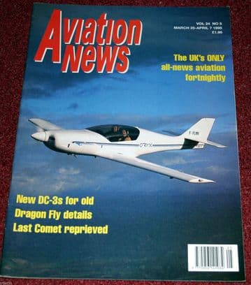 Aviation News Magazine 24.5 Boscombe Down Comet,Basler DC-3