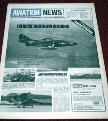 Aviation News Magazine 7.10 Grumman F9F Panther Scale Plans,Tain,Mig-23