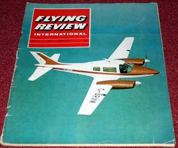 Flying Review Magazine 1964 April Mirage,Tu-16,Beagle Basset,Concorde