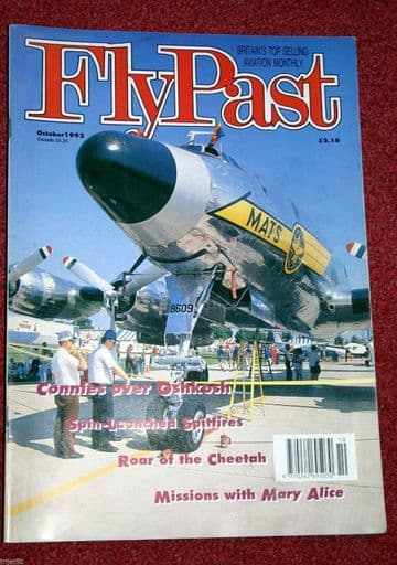 Flypast Magazine 1992 October Norseman,Wrough Gt Warbirds,SAAF Oxford,Bell P-59,Spitfire
