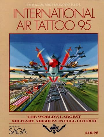International Air Tattoo 1995 The World's Largest Military Airshow in Full Colour  RAF Fairford