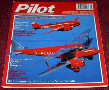 Pilot Magazine 1997 May Cirrus,DH Dragonfly,Airbus A319,Piper Pawnee
