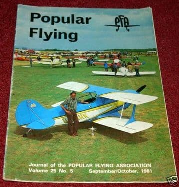 Popular Flying Magazine 1981 September-October