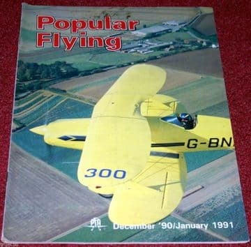 Popular Flying Magazine 1990 December-1991 January Bensen Gyro