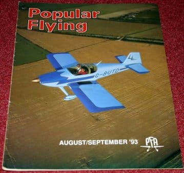 Popular Flying Magazine 1993 August-September RV-6