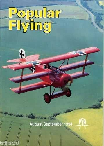 Popular Flying Magazine 1994 August -September