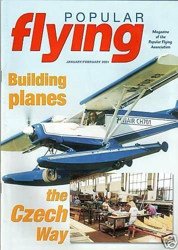 Popular Flying Magazine 2001 January-February Czech Aircraft Works