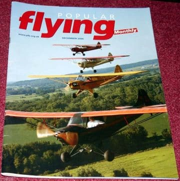 Popular Flying Magazine 2005 December Falco,Wicko,Broadhead,Spitfire Mk26,KR-2