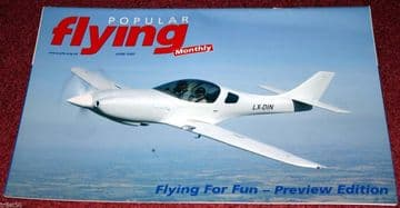 Popular Flying Magazine 2005 June Dyn Aero,Aeronca,Pietenpol