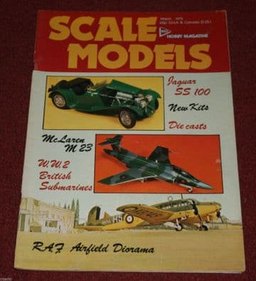 Scale Models Magazine 1975 March Airacobra