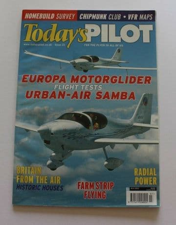 Todays Pilot Magazine 2002 July Europa,DHC1 Chipmunk,Urban-Air Samba,P51 Mustang