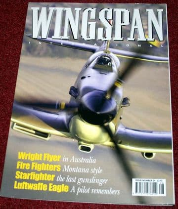 Wingspan International Magazine 24 Lockheed F-104  Starfighter,Greybull Firefighters,Air Atlantique