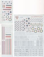 1/144th scale Decals