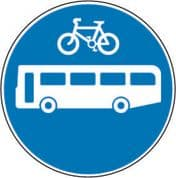 Bus & Cycle Route Only