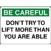 Care003 - Don't Try To Lift